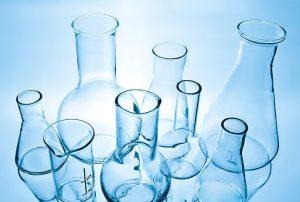 lab equipment blue
